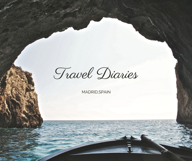 Travel Diaries blog header